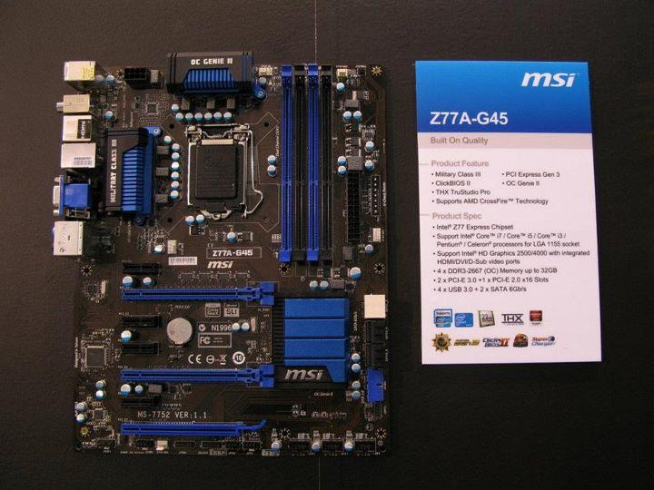 MSI Z77A-GD45