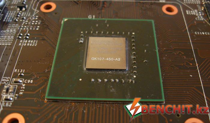 MSI GTX 650 Power Edition OC - графический процессор
