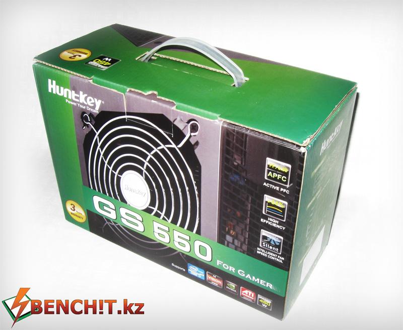 Huntkey GS 550 - обзор и тестирование