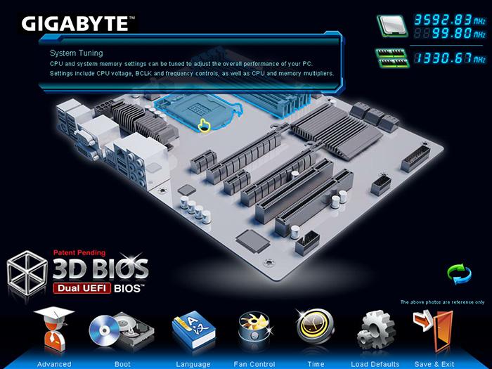 BIOS Gigabyte GA-Z77X-UD3H