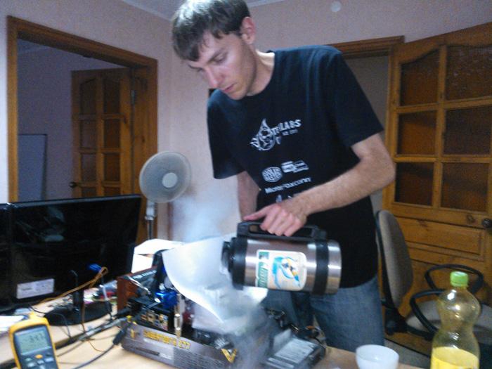 SWED разгоняет на MSI OC CUP KZ 2012