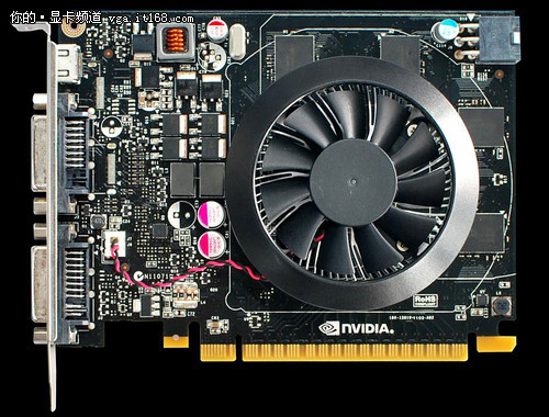 Референс GeForce GTX 650