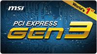 Поддержка PCI-E 3.0