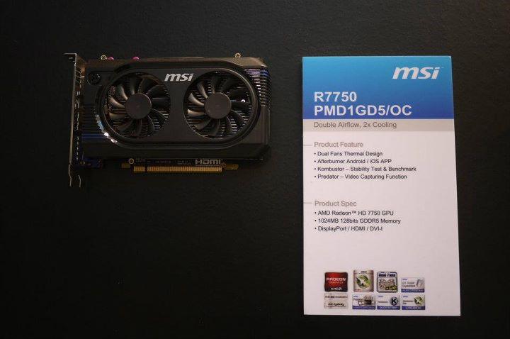 MSI R7750 OC