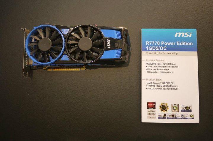 MSI R7770 Power Edition
