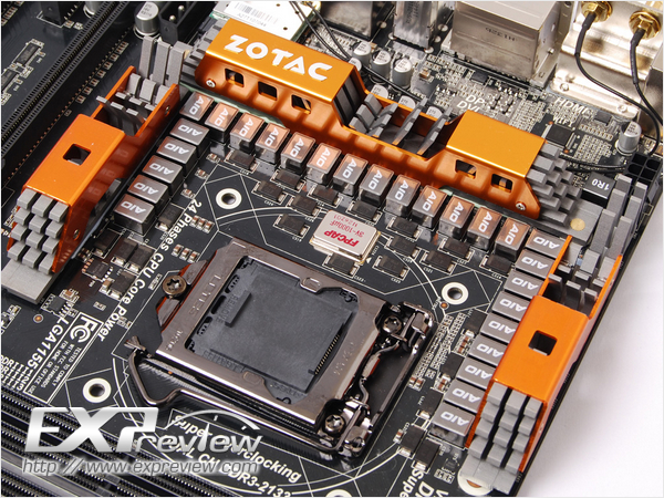 Материнская плата Zotac ZT-Z77-U1D имеет 27 фаз