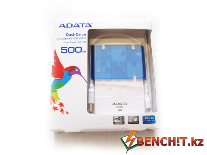 Обзор и тестирование USB-накопителья ADATA H610