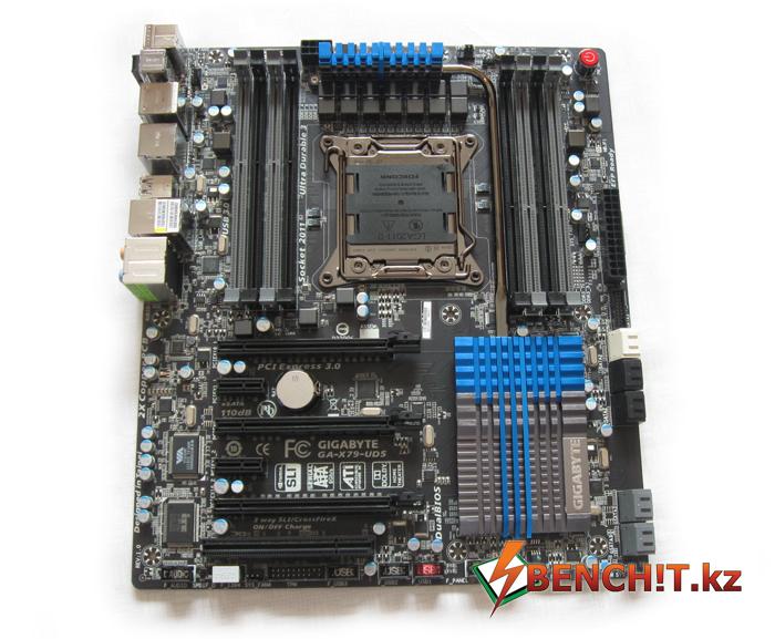 Обзор и тестирование Gigabyte GA-X79-UD5