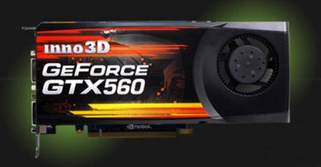Inno3D GTX 560 SE