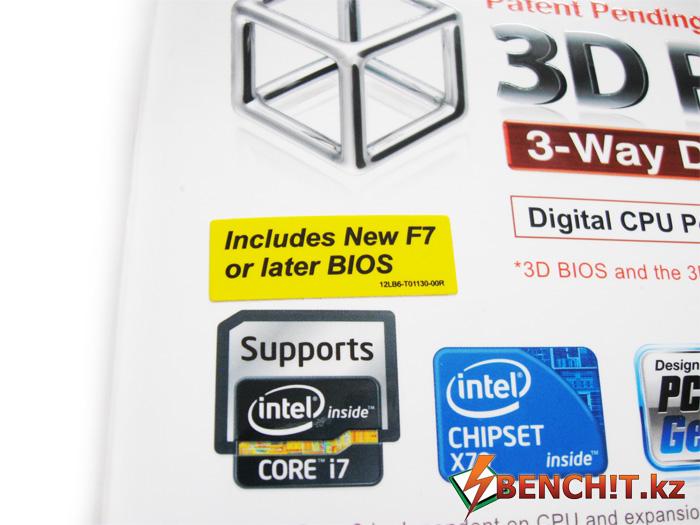 Gigabyte GA-X79-UD5 с версией BIOS F7
