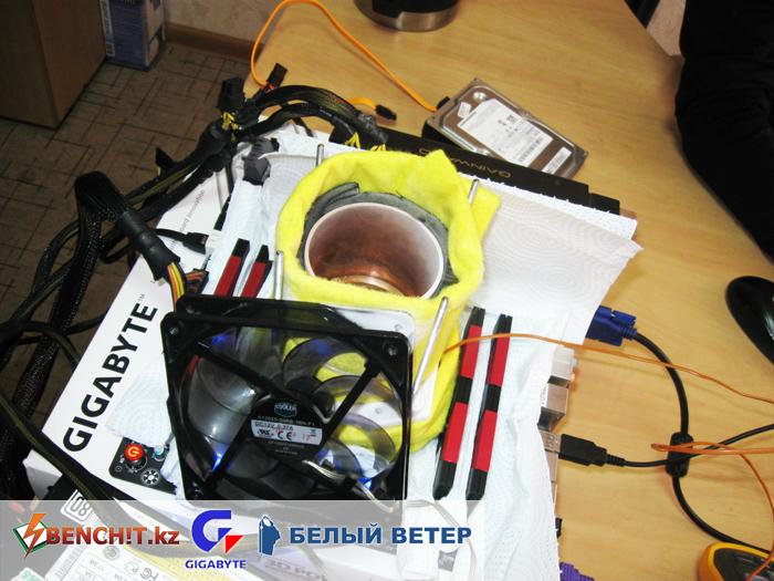 Разгон Intel Core i7-3820 с жидким азотом