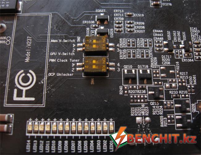 Переключатели Mem V-Switch и GPU V-Switch