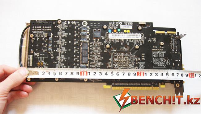 Размеры MSI R6970 Lightning