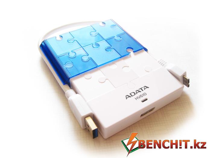 Обзор и тестирование USB-накопителя ADATA DashDrive HV610