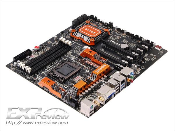 Zotac выпустила флагманскую плату на чипсете Intel Z77